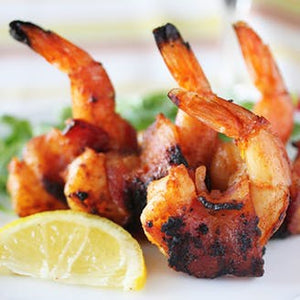 Hickory Smoked Bacon Wrapped Shrimp- 20 ct.