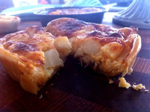 Chesapeake Scallop and Bacon Pie- (4) 5 oz.