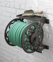 Liberty 708 125 ft All Steel Decorative Wall Mounted Hose Reel