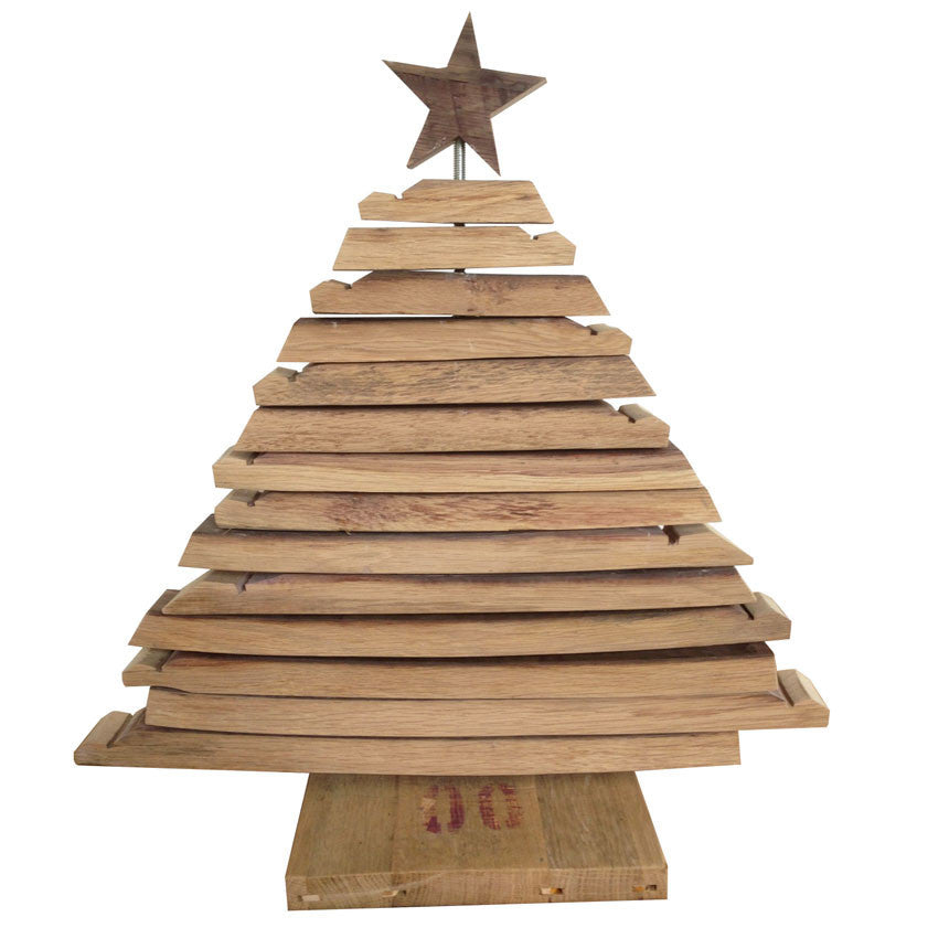 Barrel Furniture Stave Christmas Tree