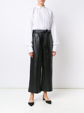 Classic Leather Karate Pants