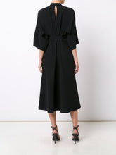 NEW V-Neck Shirt Dress Black PRE-ORDER