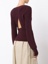 Merino Wool L/S Crossover Sweater