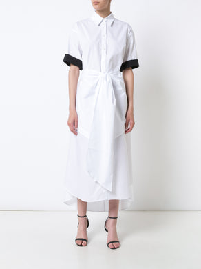 Open Back Shirtdress W/Belt