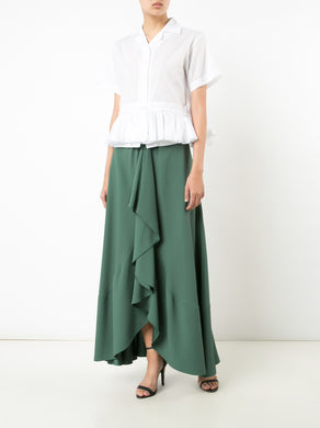 Gathered Front Skirt