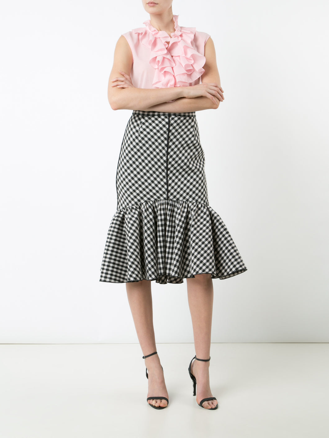 Gingham Mermaid Skirt