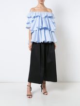 S/S Ruffled Blouse