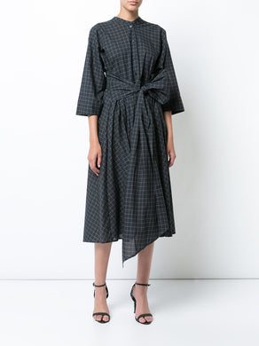 Shirt Dress with Wrap