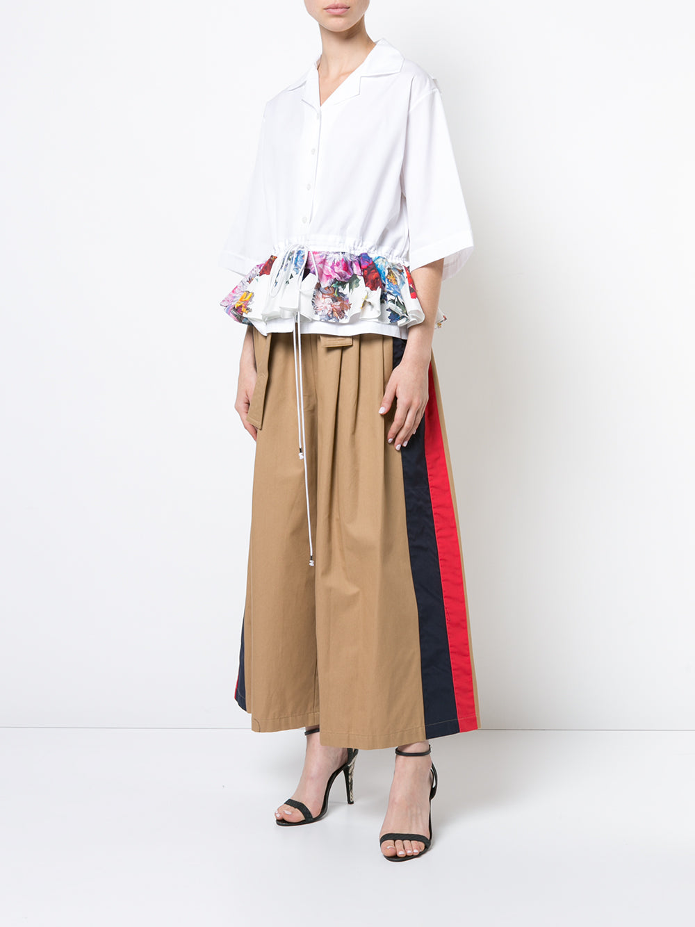 Karate Pant with Stripe