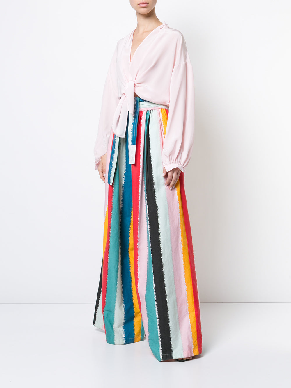 Rainbow Long Karate Pant