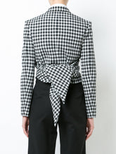 Scarf Lapel Crop Jacket