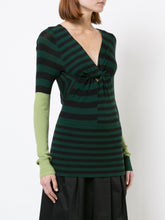 Twisted Long Sleeve Open Back Knit