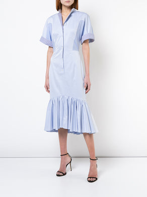 Chambray Mermaid Shirtdress