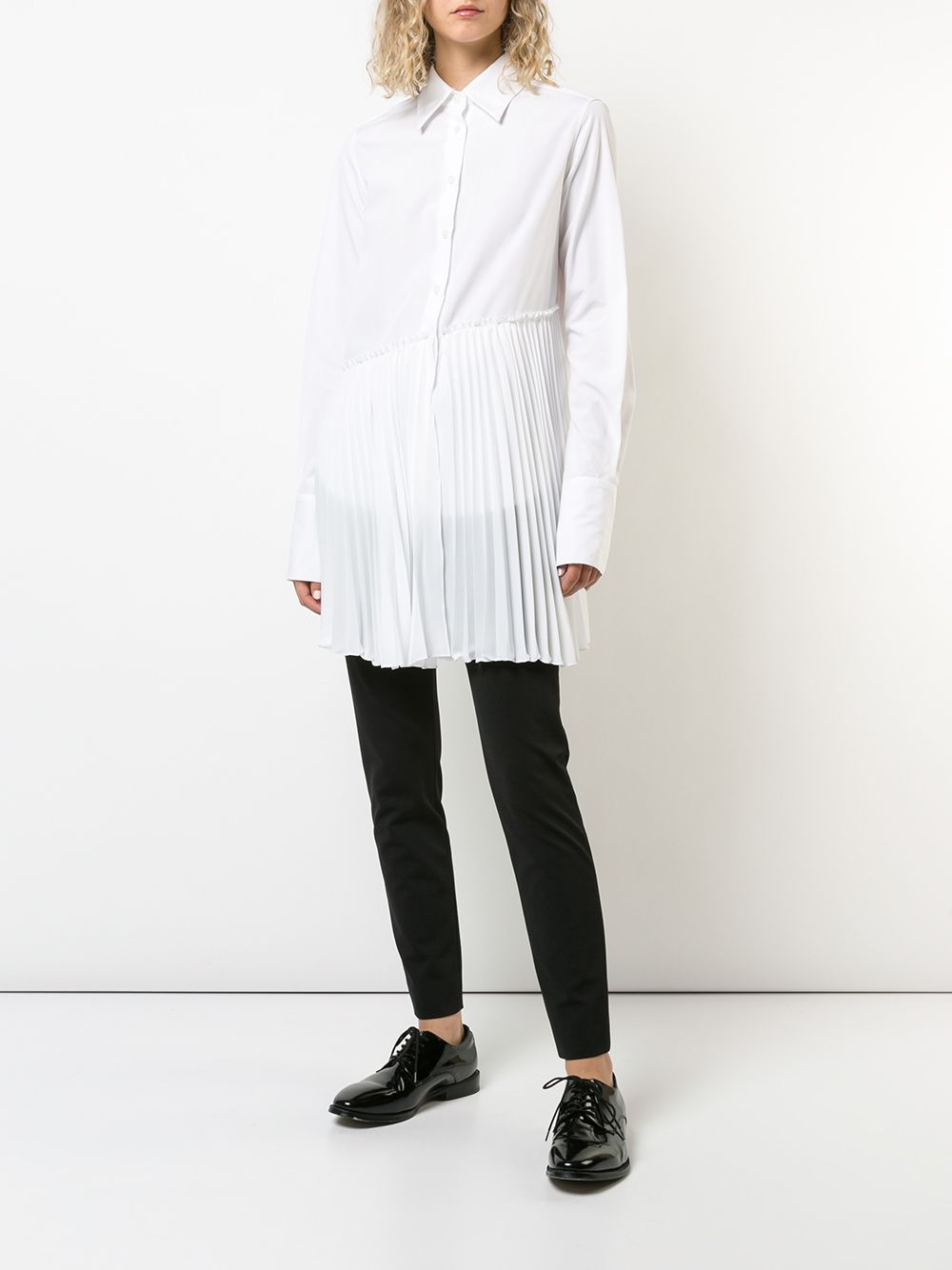 Classic Shirt with Pleating
