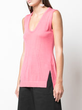 Sleeveless Knit Tunic
