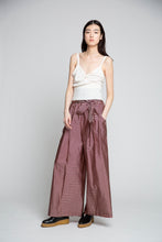 Taffeta Striped Karate Pant
