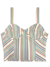 Cabana Stripe Bra Top
