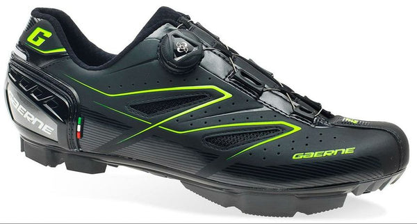 Gaerne G. Hurricane Carbon MTB Shoes- Black/Green