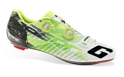 Gaerne G.Stilo Carbon Road Shoes - Green/White