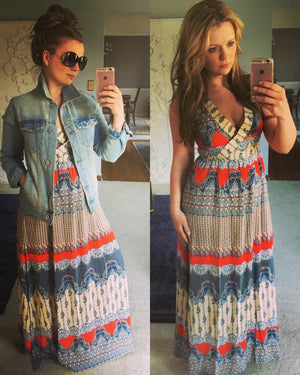 Maxi dresses from day to night...