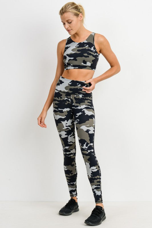 Jayden Camo Leggings