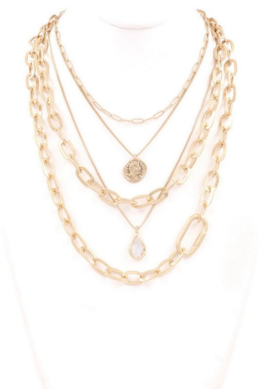 Deacon Layered Necklace