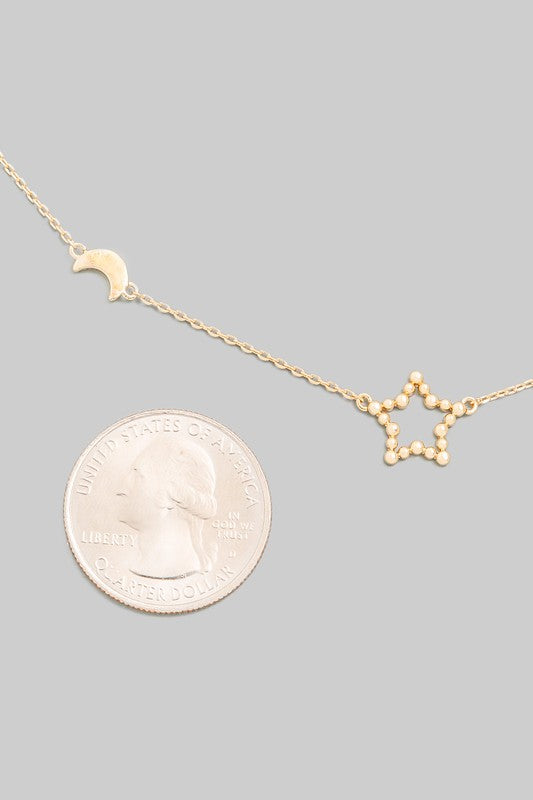 Deeter Star Mini Necklace (2 Colors!)