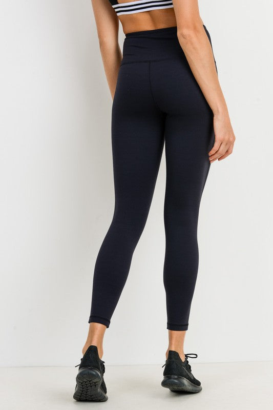 Caleb Black Leggings