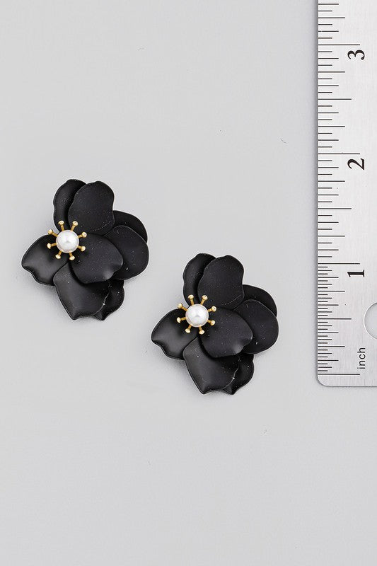 Voyager Floral Earrings (2 Colors!)