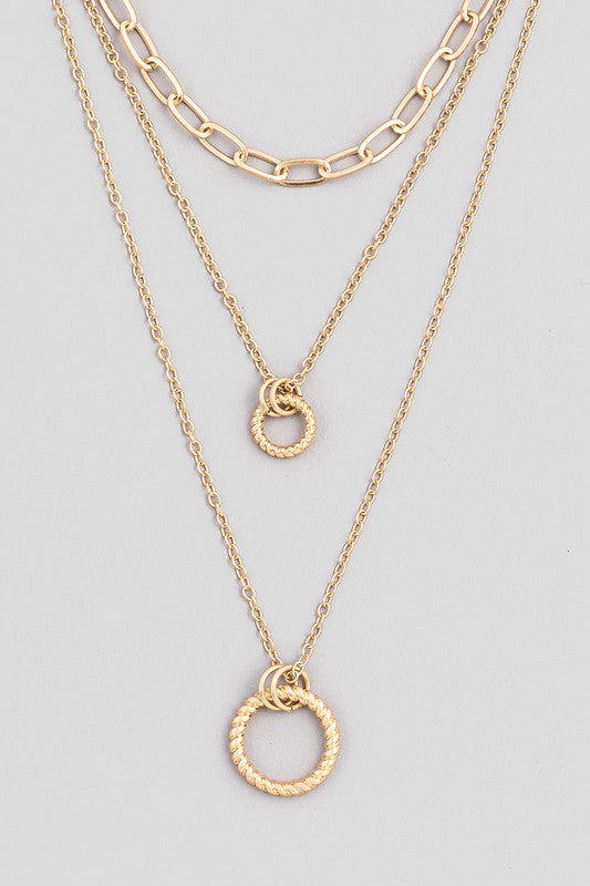 Derek O Ring Necklace