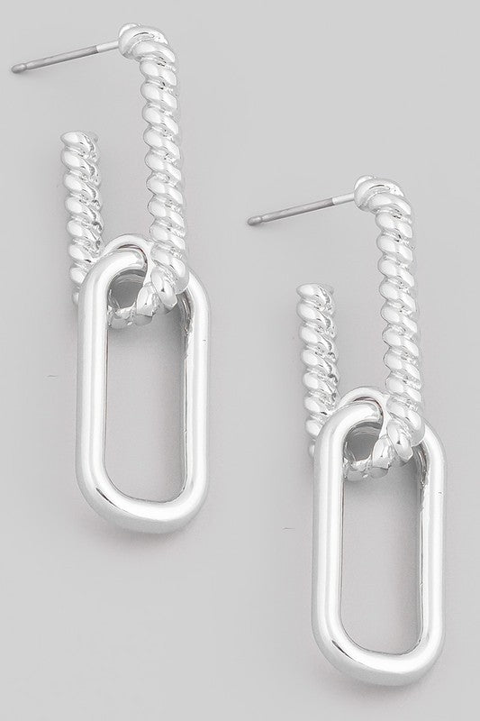 Circa Chain Earrings (2 Colors!)