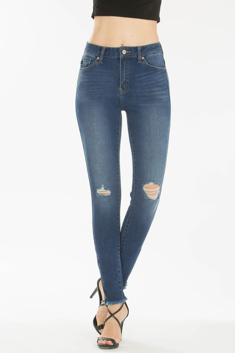 Edith Distressed Skinny Jeans