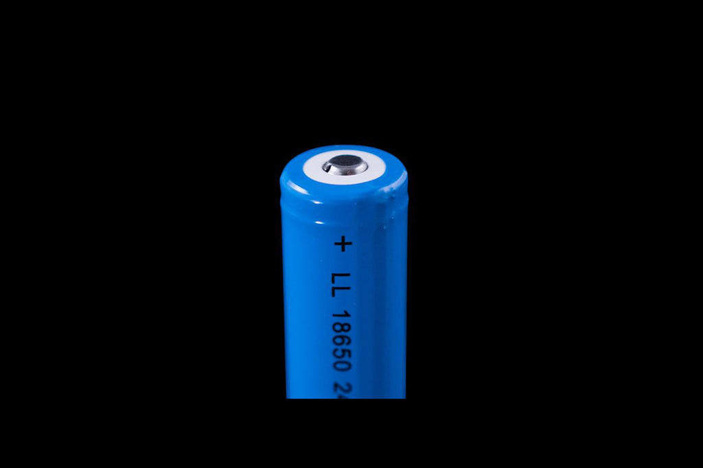 PixelWhip Battery - 18650 rechargeable,  2600mAh