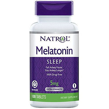 Melatonina liberacion prolongada - melatonina 5 mg con vitamina B6 - 100 tabletas de Natrol