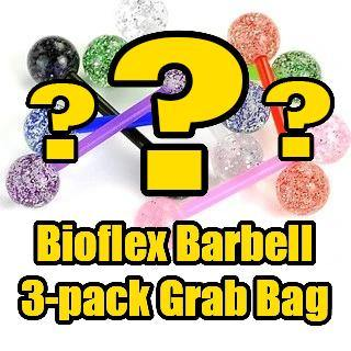 Bioflex Straight Barbell Grab Bag