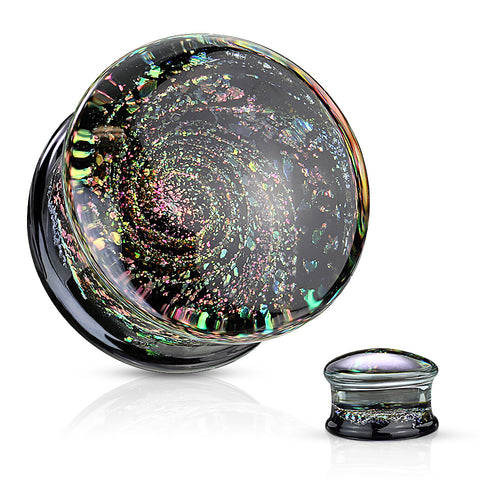 Black Hole Glass Plugs
