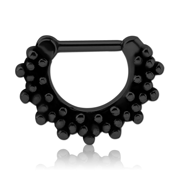 Blackline Multi-Beaded Septum Clicker