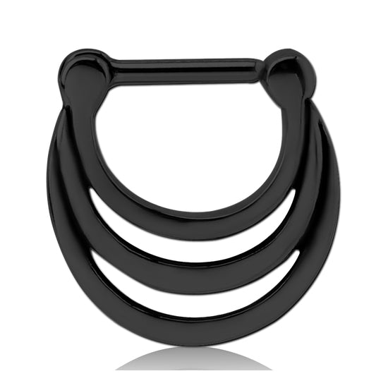 Blackline Triple Stack Septum Clicker