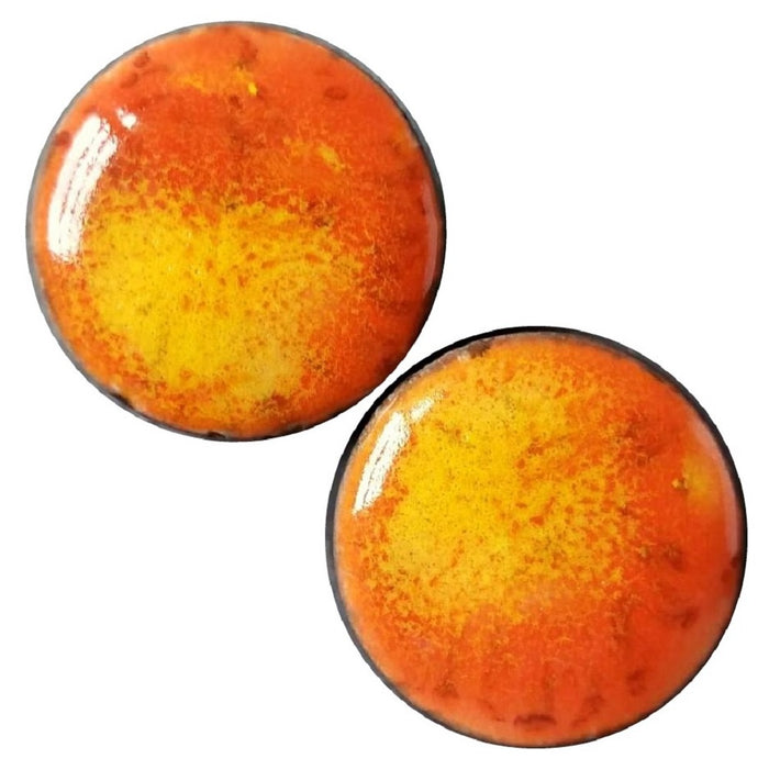 Blood Orange Ceramic Plugs