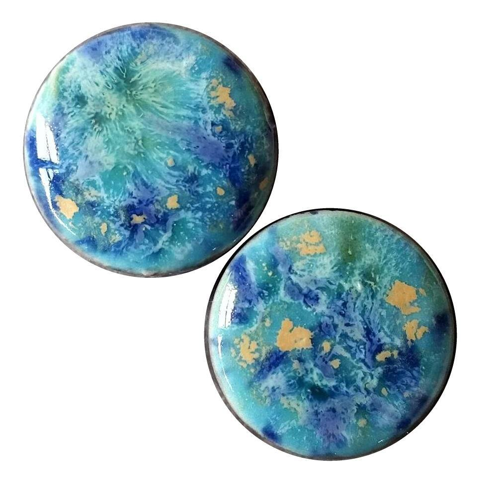 Blue Caprice Ceramic Plugs