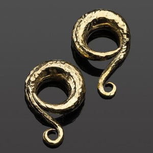 Brass Distressed Classic Coils by Diablo Organics