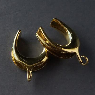 Brass Saddle Spreader Hooks by Diablo Organics