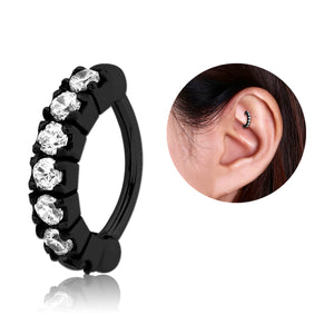 Blackline CZ Paved Cartilage Clicker