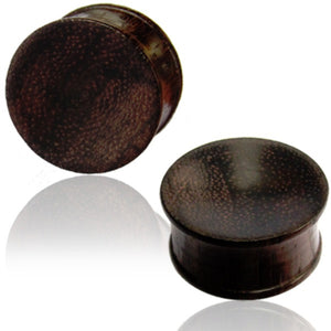 Sono Wood Double Flared Plugs