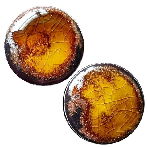Copper Aventurine Ceramic Plugs