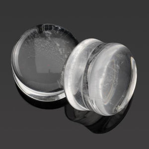 Clear Quartz Plugs by Diablo Organics
