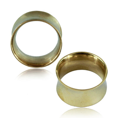 Double Flared Brass Tunnels