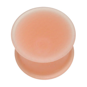Flat Flared Silicone Flesh Plugs