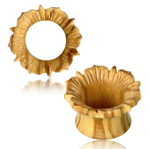 Flower Olive Wood Tunnels