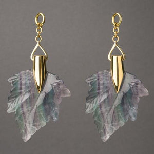 Fluorite Maple Leaves by Diablo Organics
